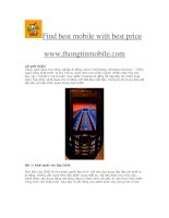 Find best mobile with best price