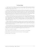 Báo cáo công ty TNHH Cơ kim khí Sơn Hà