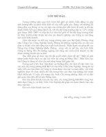 DỊCH VỤ VẬN TẢI BIỂN VÀ VAI TRÒ CỦA NÓ TRONG PHÁT TRIỂN KINH TẾ