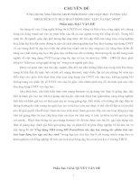 ỨNG DỤNG VBA TRONG MS POWER POINT CHO DẠY HỌC TƯƠNG TÁC  NHẰM TÍCH CỰC HOÁ HOẠT ĐỘNG HỌC TẬP CỦA HỌC SINH