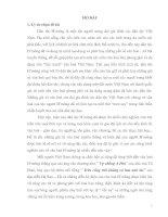 """"""" Vai trò của cây lanh trong đời sống văn hoá của người H'mông ở huyện Sa Pa – tỉnh Lào Cai"""