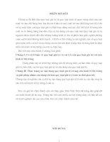 QUY LUẬT GIÁ TRỊ, VAO TRÒ VÀ TÁC ĐỘNG CỦA NÓ ĐẾN NỀN KINH TẾ THỊ TRƯỜNG Ở VN HIỆN NAY