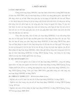 Thực trạng vấn đề hoạt động GDNGLL ở trường THCS Quang Trung