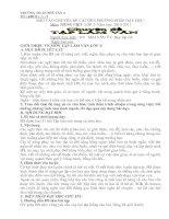 BÁO CÁO CHUYÊN ĐỀ CẢI TIẾN PHƯƠNG PHÁP DẠY HỌC
