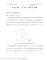 Phân tích về điện tim và nhiễu điện tim chương 2 phần 1