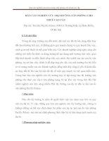 BÁO CÁO NGHIÊN CỨU THỊ TRƯỜNG VĂN PHÒNG CHO THUÊ CAO CẤP