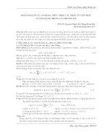 Phân hoạch của vành đa thức theo các phần tử liên hợp và ứng dụng trong lý thuyết mã