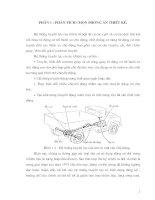 Thiết kế hệ thống truyền lực của ô tô phần 1