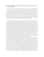Dự thảo Luật Ngân hàng Nhà nước Việt Nam(sửa đổi)