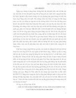 ĐẦU TƯ SỰ PHÁT TRIỂN KẾT CẤU HẠ TẦNG, GIAO THÔNG VẬN TẢI Ở VIỆT NAM 2001-2010