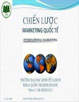 Chiến lược Marketing quốc tế