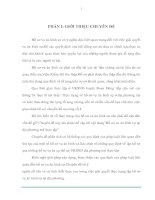 THỰC TRẠNG VỀ HỒ SƠ VỤ ÁN HÌNH SỰ TẠI VKSND HUYỆN ĐOAN HÙNG - PHÚ THỌ