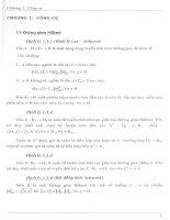 chỉnh hóa một số phương trình tích chặp, chương 1