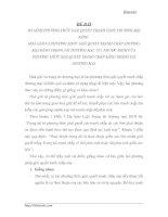 SO SÁNH PHƯƠNG THỨC GIẢI QUYẾT TRANH CHẤP THƯƠNG MẠI BẰNG  HOÀ GIẢI VÀ PHƯƠNG THỨC GIẢI QUYẾT TRANH CHẤP THƯƠNG MẠI BẰNG TRỌNG TÀI THƯƠNG MẠI