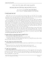 ĐỔI MỚI PHƯƠNG PHÁP DẠY HỌC BỘ MÔN VẬT LÍ 6