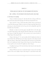 CÔNG TÁC KẾ TOÁN CỦA XÍ NGHIỆP XÂY DỰNG 102-CÔNG TY CỔ PHẦN XÂY DỰNG SỐ 1 HÀ NỘI