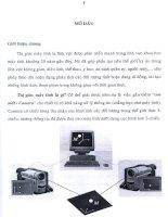 Nghiên cứu và gải bài toán  khôi phục cấu trúc xạ ản từ ba ảnh trong thị  giác  máy tính 3_2