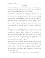 Một số vấn đề về phân tích tài chính doanh nghiệp ở công ty TNHH An Dương