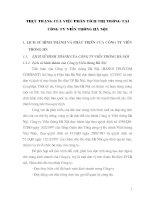 Thực trạng phân tích thị trường tại công ty viễn thông Hà Nội