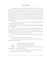 344 Marketing mix đối với việc mở rộng thị trường tại Công ty kính Đáp Cầu - Bắc Ninh