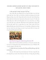 TÌM HIỂU CHÍNH SÁCH ĐỘC QUYỀN CỦA THỰC DÂN PHÁP VỀ MUỐI, RƯỢU, THUỐC PHIỆN