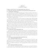 THỰC TRẠNG CHẤT LƯỢNG PHỤC VỤ VÀ CÔNG TÁC TỔ CHỨC THU THẬP ĐÁNH GIÁ CỦA KHÁCH LƯU TRÚ VỀ CHẤT LƯỢNG PHỤC VỤ TẠI KHÁCH SẠN PETRO SÔNG TRÀ QUẢNG NGÃI TRONG THỜI GIAN QUA