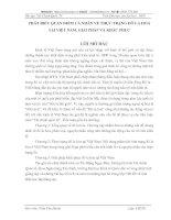 PHÁT BIỂU QUAN ĐIỂM CÁ NHÂN VỀ THỰC TRẠNG ĐÔ LA HOÁ TẠI VIỆT NAM. GIẢI PHÁP VÀ KHẮC PHỤC