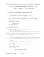 CHƯƠNG 1: GIỚI THIỆU CÔNG TY PHÁT TRIỂN NGUỒN NHÂN LỰC LE&ASSOCIATE