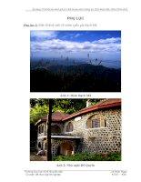 Phiếu điều tra thông tin du lịch tại vườn quốc gia Bạch Mã