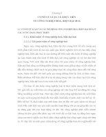 CƠ SỞ LÝ LUẬN VÀ THỰC TIỄN VỀ CÔNG NGHIỆP HOÁ, HIỆN ĐẠI HOÁ