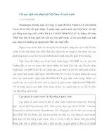 Các quy định của pháp luật Việt Nam về cạnh tranh