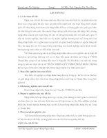HOÀN THIỆN QUY TRÌNH NHẬP KHẨU HÀNG HÓA TẠI CÔNG TY TNHH THƯƠNG MẠI DỊCH VỤ THUẬN HÀO