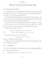 bất đẳng thức biến phân tựa đơn điệu và thuật toán xấp xỉ giá trị 5