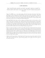 MÂU THUẪN BIỆN CHỨNG VỚI VIỆC TÌM HIỂU NHỮNG CƠ HỘI VÀ THÁCH THỨC KHI VIỆT NAM GIA NHẬP TỔ CHỨC THƯƠNG MẠI QUỐC TẾ WTO