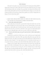 THÀNH PHẦN KINH TẾ, TÍNH TẤT YẾU KHÁCH QUAN VÀ VAI TRÒ CỦA NỀN KINH TẾ NHIỀU THÀNH PHẦN