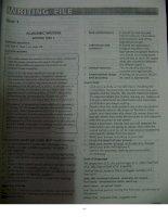 IELTS Practice Test PLUS 3 Answer