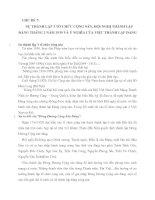 SỰ THÀNH LẬP 3 TỔ CHỨC CỘNG SẢN, HỘI NGHỊ THÀNH LẬP ĐẢNG THÁNG 2 NĂM 1930 VÀ Ý NGHĨA CỦA VIỆC THÀNH LẬP ĐẢNG