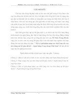 NÂNG CAO CHẤT LƯỢNG CHO VAY TIÊU DÙNG TẠI SỞ GIAO DỊCH I NGÂN HÀNG CÔNG THƯƠNG VIỆT NAM