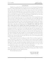 NGHIÊN CỨU THIẾT BỊ TÁCH PHA, TÍNH TOÁN CÁC THÔNG SỐ CƠ BẢN CHO BÌNH TÁCH