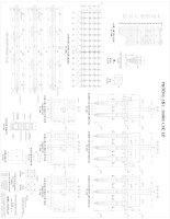 Bản vẽ thiết kế móng luận văn tốt nghiệp kỹ sư xây dựng