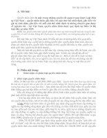 Quyền nhân thân theo quy định trong Bộ luật dân sự - Một số vấn đề lý luận và thực tiễn