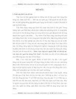 ĐẦU TƯ TRỰC TIẾP NƯỚC NGOÀI FDI VỚI VẤN ĐỀ TẠO VIỆC LÀM CHO NGƯỜI LAO ĐỘNG VIỆT NAM