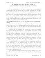 PHÂN TÍCH CƠ SỞ XUẤT PHÁT VÀ NỘI DUNG LÝ LUẬN HÌNH THÁI KINH TẾ- XÃ HỘI CỦA C.MÁC