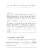 HOÀN THIỆN PHÁP LUẬT HÌNH SỰ NHẰM TĂNG CƯỜNG HIỆU QUẢ PHÒNG, CHỐNG BUÔN BÁN PHỤ NỮ, TRẺ EM