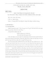 HIỆU TRƯỞNG CHỈ ĐẠO XÂY DỰNG VÀ TỔ CHỨC THỰC HIỆN CHƯƠNG TRÌNH CÔNG TÁC ĐỘI