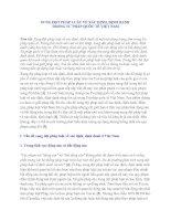 XUNG ĐỘT PHÁP LUÂT VỀ XÁC ĐỊNH, ĐỊNH DANH  TRONG TƯ PHÁP QUỐC TẾ VIỆT NAM