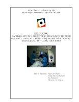 ĐÁNH GIÁ KẾT QUẢ PHẪU THUẬT PHACO ĐIỀU TRỊ BỆNH ĐỤC THỦY TINH THỂ TẠI BỆNH VIỆN GIAO THễNG VẬN TẢI TRUNG ƯƠNG TỪ THÁNG 4 ĐẾN 6/2010