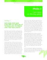 Phần I Chương 1  Điều tra quốc gia về vị thành niên và thanh niên Việt Nam