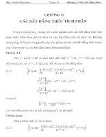 các bất đẳng thức tích phân 2