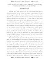 THỰC TRẠNG VÀ GIẢI PHÁP ĐIỀU CHỈNH PHÁT TRIỂN THỊ TRƯỜNG BẤT ĐỘNG SẢN CỦA HÀ NỘI